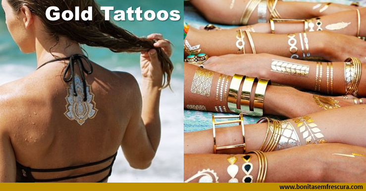 gold tattoos. capa