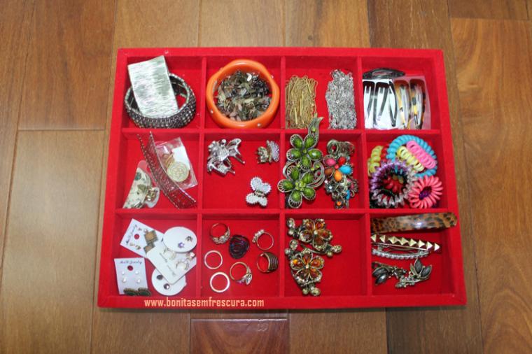 organizador de bijuterias. 1