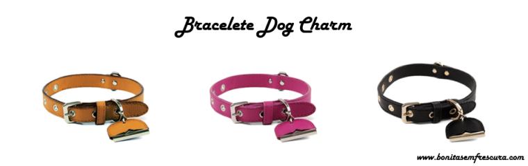 bolsas personalizadas schutz . bracelete dog charm