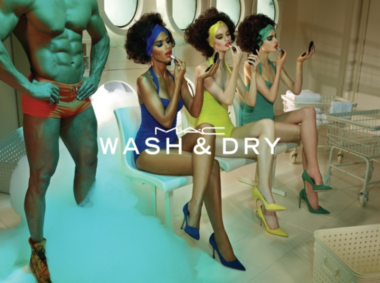 mac. wash and dry. 2