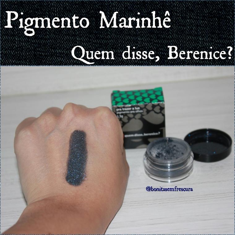 qdb. pigmento marinhe. swatch