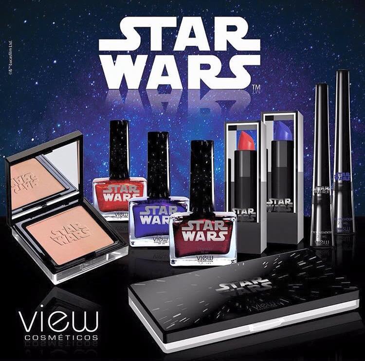 Star Wars Coleção. View Cosmeticos