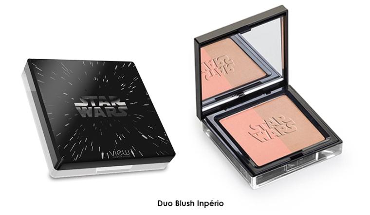 Star Wars Coleção. View Cosmeticos. Blush Bronzer