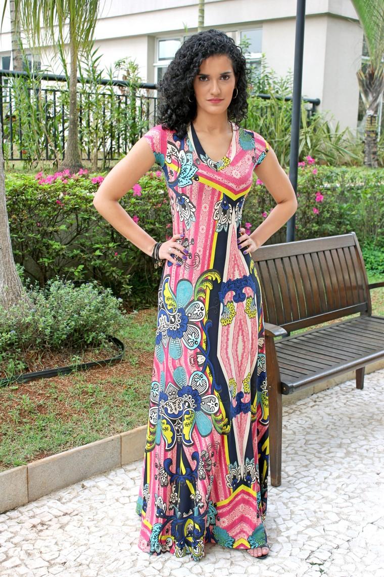 juliene tenorio. vestido rosa florido (3)