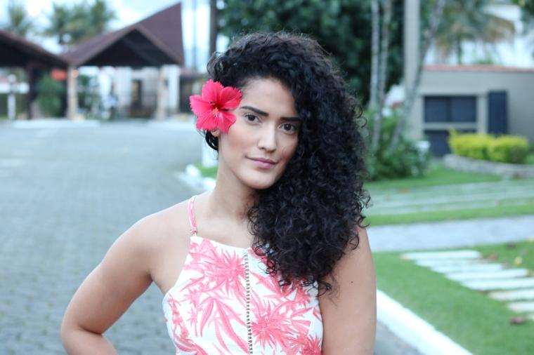 vestido floral com fenda (1)